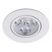 Luminaria Spot Lampada Led 3w Embutir Direcionável Dicroica