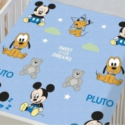 Manta De Microfibra Soft Mickey Disney Baby Jolitex