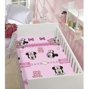 Manta De Microfibra Soft Minnie Disney Baby Jolitex