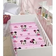 Manta De Microfibra Soft Minnie Menina Disney Baby Jolitex