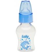 Mini Mamadeira Chuquinha Oceano 50ml Bico R Azul Lolly
