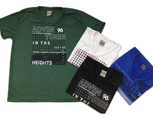 Kit 6 Camisetas Adulto Atacado Revenda Camisa Tecido Leve
