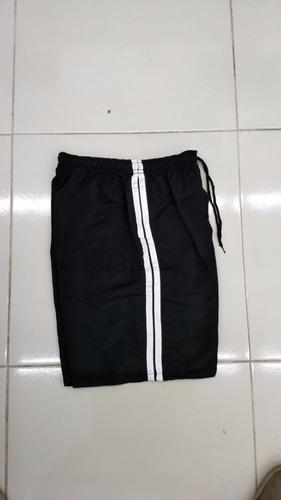 Bermuda Short De Tactel G1 Ao G3 Com Elástico. Kit 12 Peças