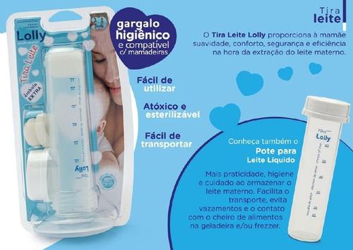Bombinha Tira Leite Materno Manual Lolly