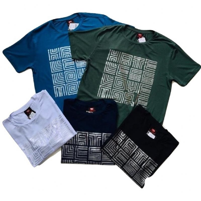 Camiseta adulto viscolycra estampada Pacobuco