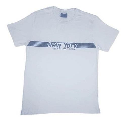 Camiseta Adulto Viscolycra New York Pacobuco