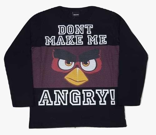 Camiseta Angry Birds Original. Não Compre Pirata
