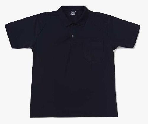 Camiseta Polo Bolso Algodão Manga Curta Camisa Gola Polo