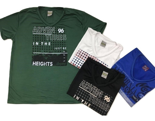 Kit 108 Camisetas Adulto Atacado Revenda Camisa Tecido Leve