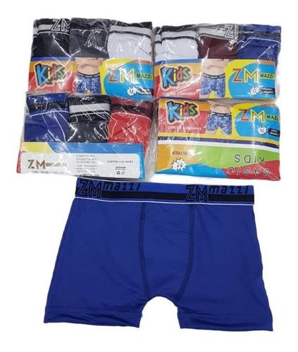 Kit 3 Cuecas Infantil Masculino Box Conforto Qualidade