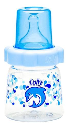 Mamadeira Baby Big Oceano Bico R 150ml Azul Lolly