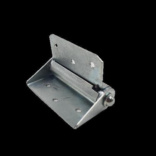 kit 3 Dobradiça Para porta Corta Fogo 4 Polegadas com Mola Regulável