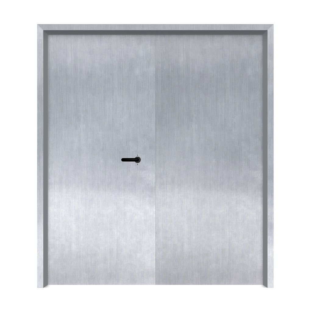 Porta Corta Fogo P90 Dupla com fechadura porta de emergência 160x210