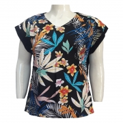 Blusa Feminina Ampla de Viscose Ref. 78 Plus Size