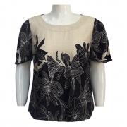 Blusa Feminina de Viscose Ref. 77 Plus Size