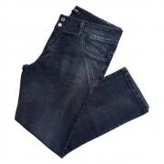 Calça Jeans Feminina Bolso Bordado C/ Pedra Plus Size