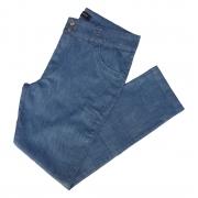 Calça Jeans Feminina Cintura Alta Ref 96 Plus Size