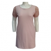 Vestido de Malha Ref. 42 Plus Size