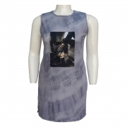 Vestido Regata Tie Dye Plus Size