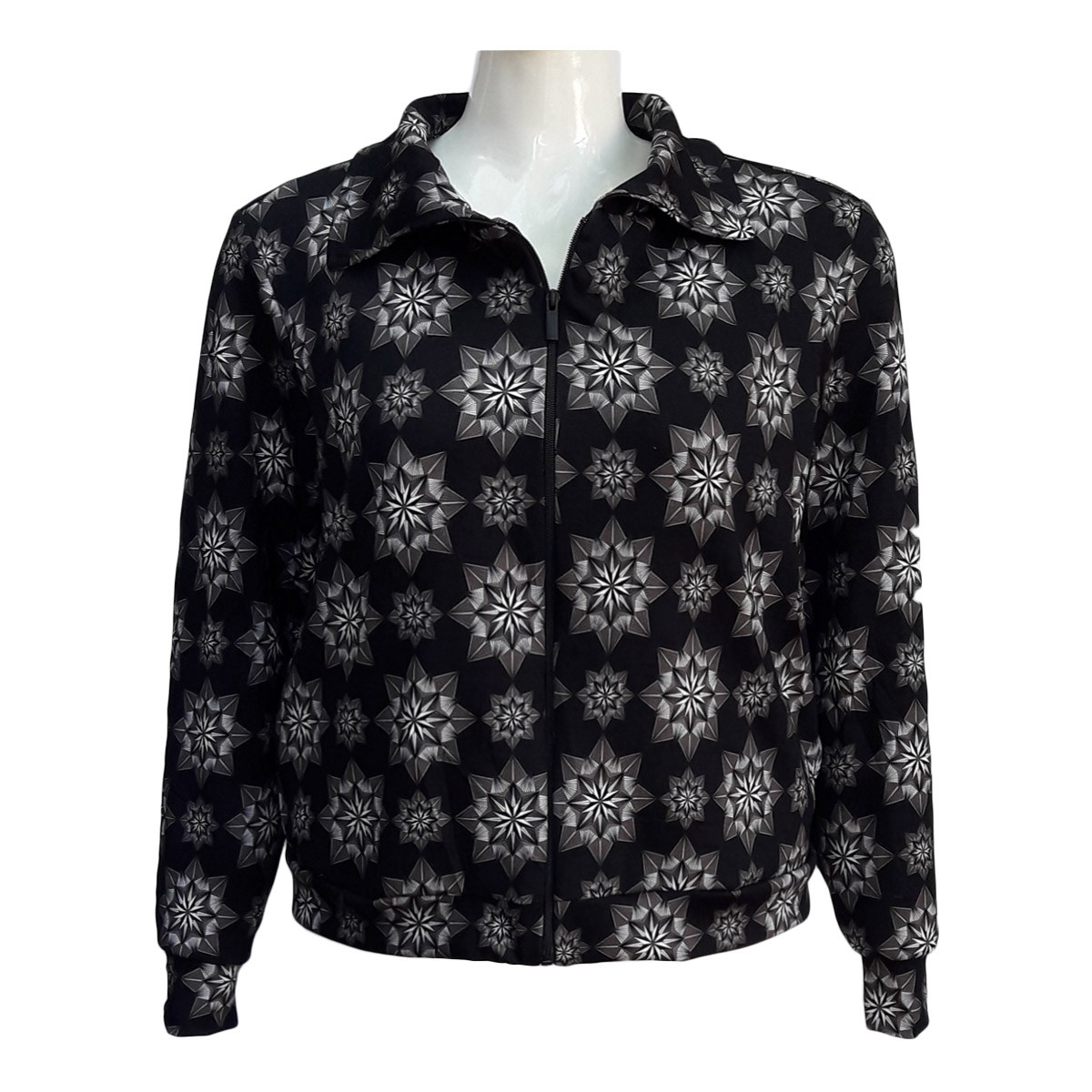 Blusa De Frio Feminina Moletinho Plus Size Estampada