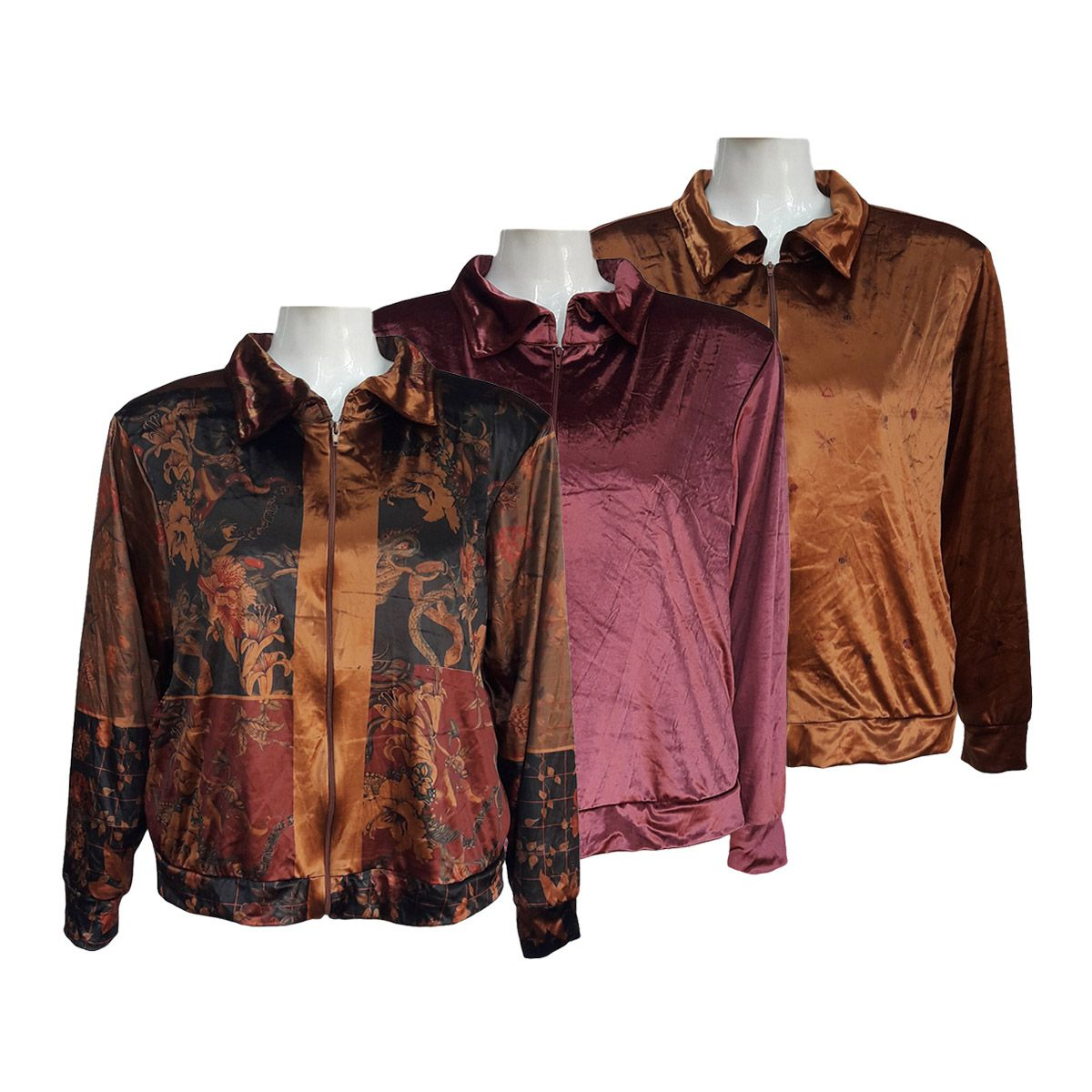 Blusa de Frio Feminina Veludo Plus Size