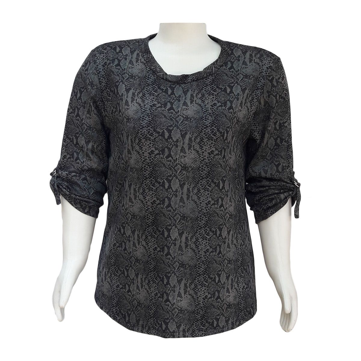 Blusa De Moletom Plus Size