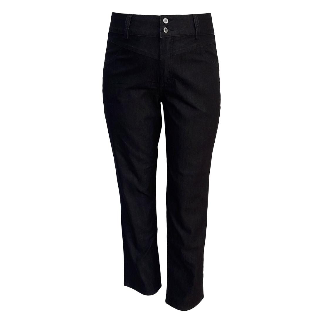 Calça Jeans Feminina Cintura Alta Ref 91 Plus Size