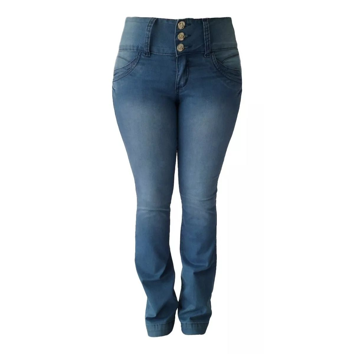 Calça Jeans Feminina Flare Tamanho 40