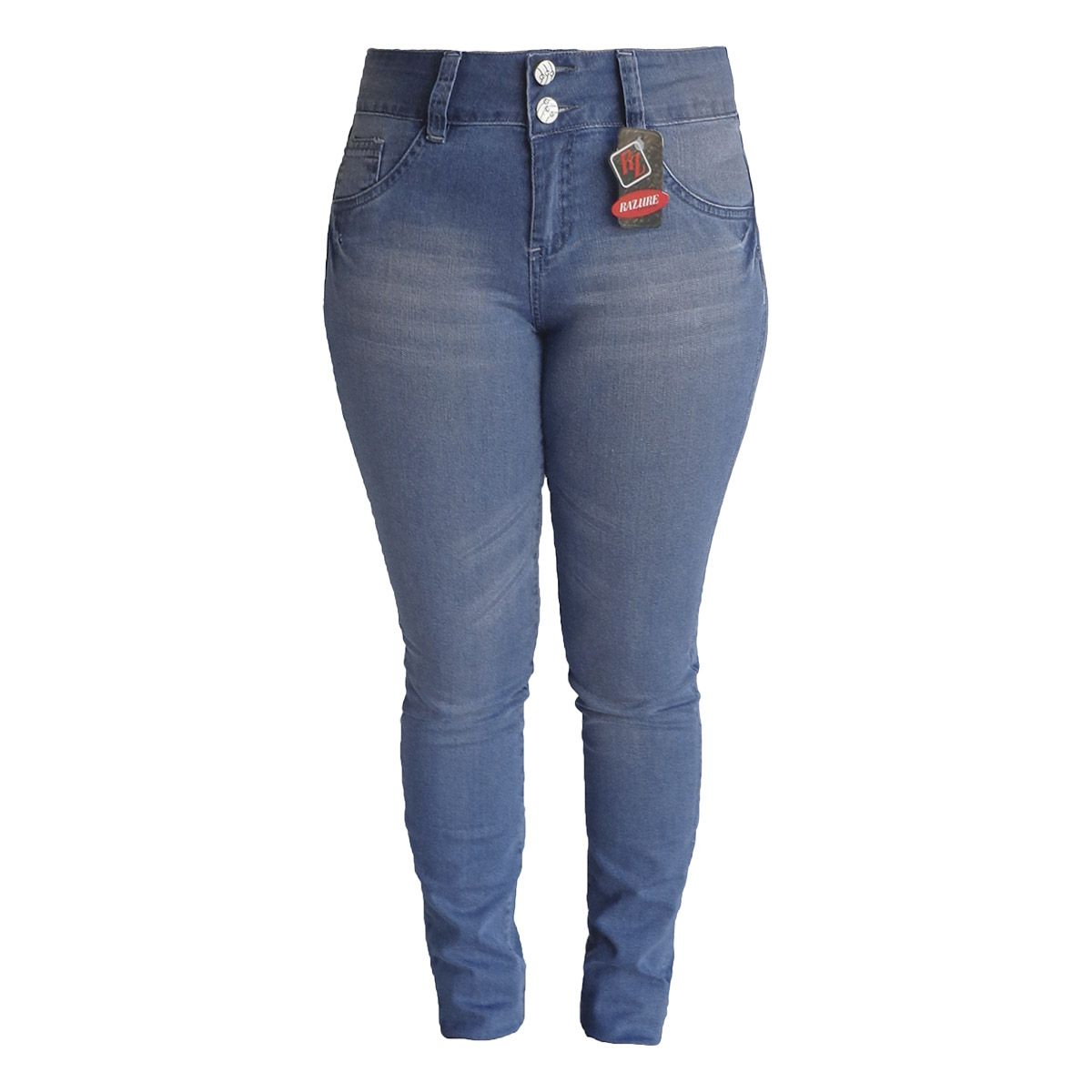 Calça Jeans Feminina Skinny Tamanho 42