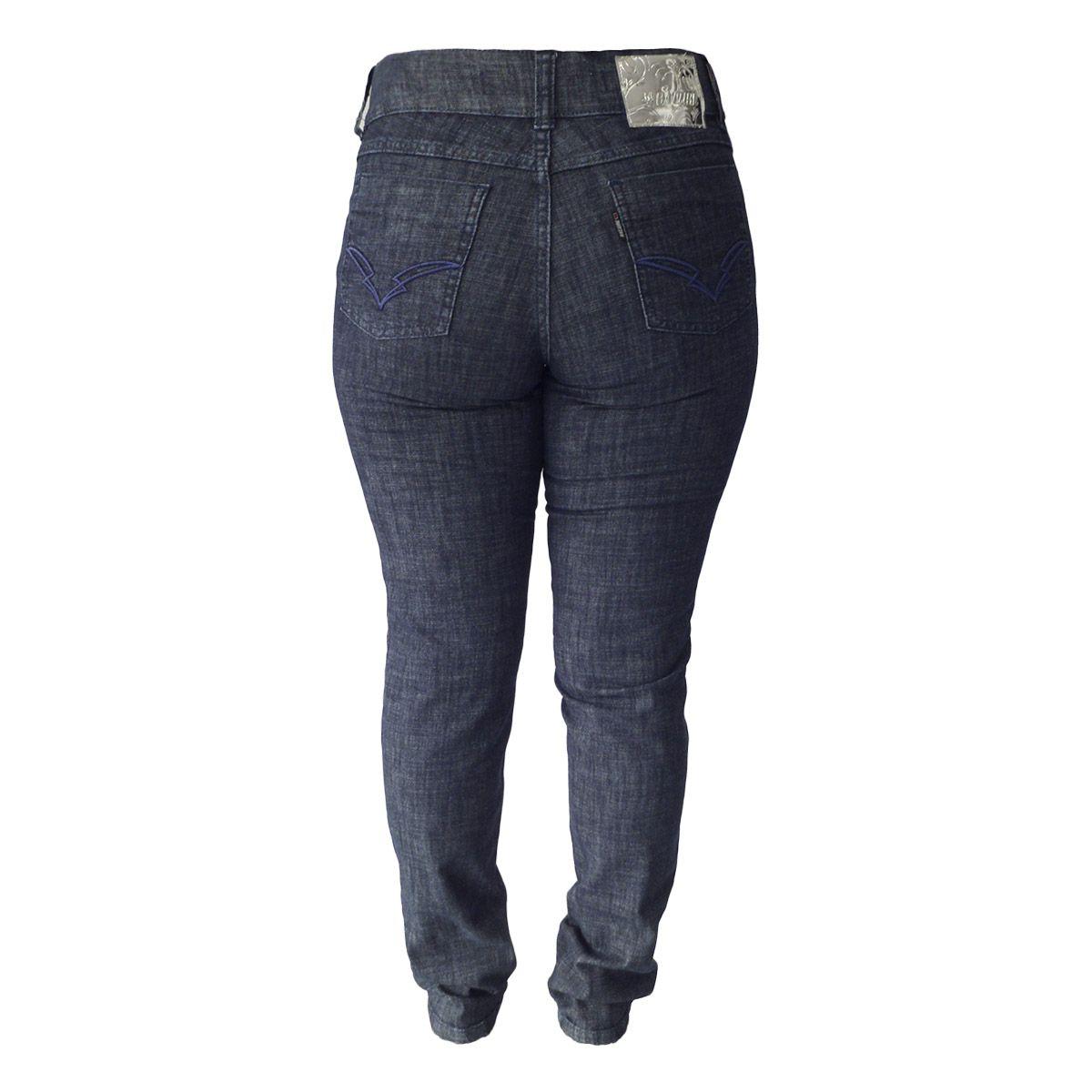 Calça Jeans Hot Pants Cint. Alta Plus Size Tamanhos 38 Ao 48