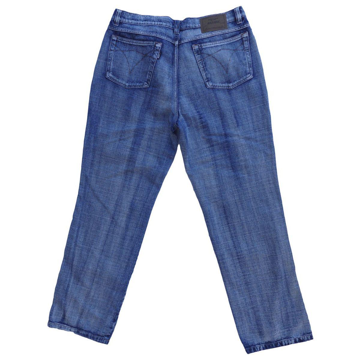 Calça Jeans Masculina Tradicional Plus Size