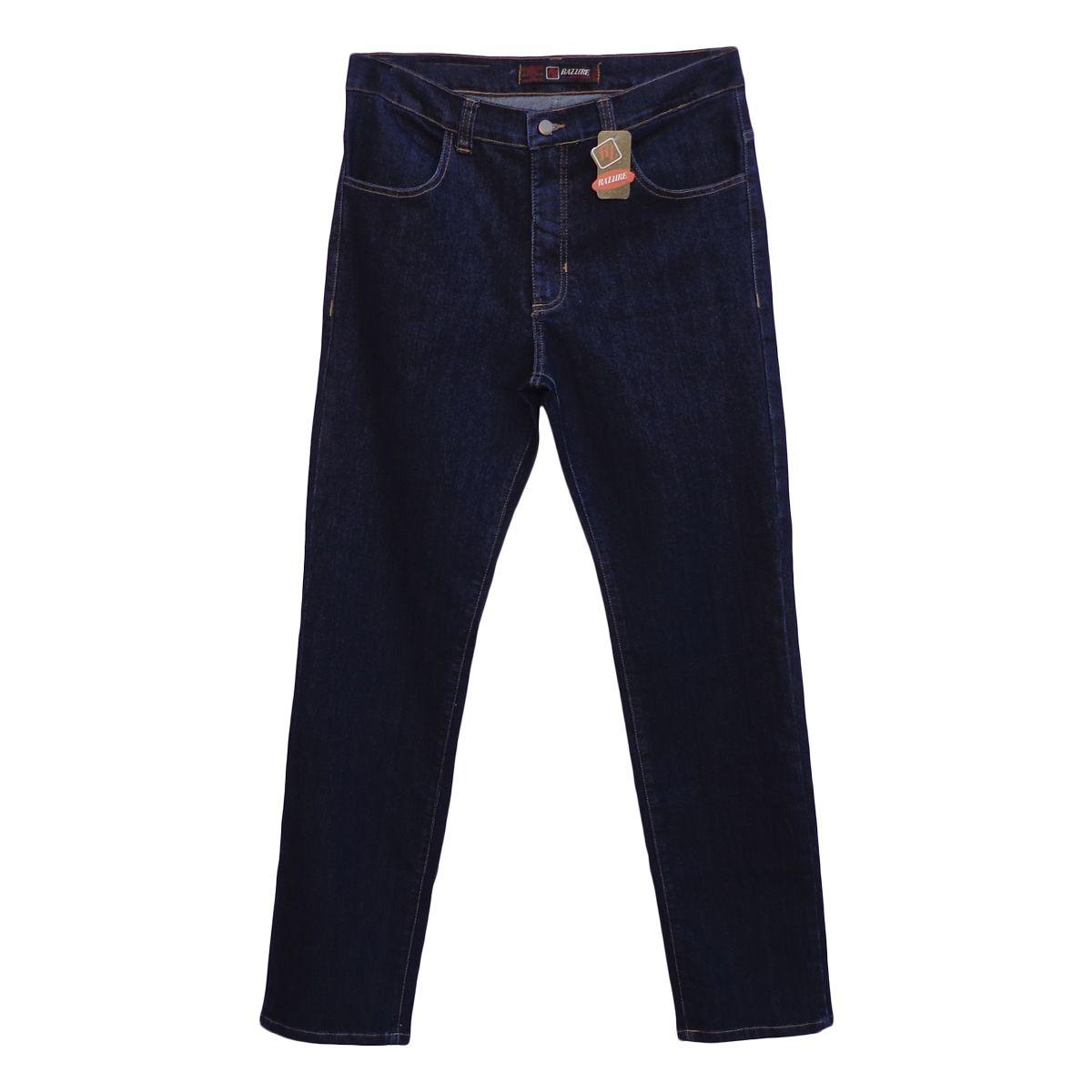 Calça Jeans Masculina Tradicional Tamanho 50
