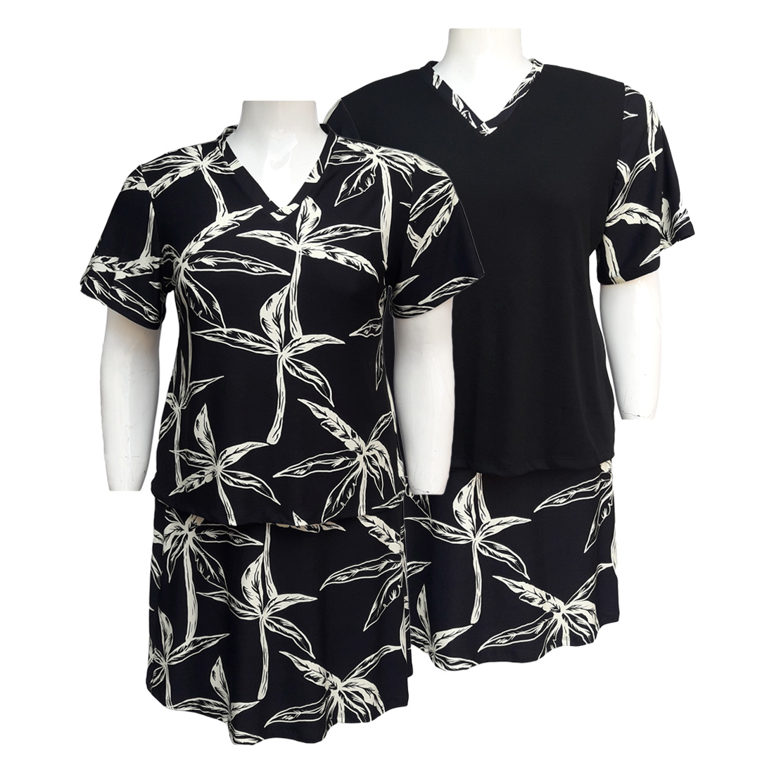 Conjunto Saia e Blusa Ref 09 Moda Evangélica Plus Size