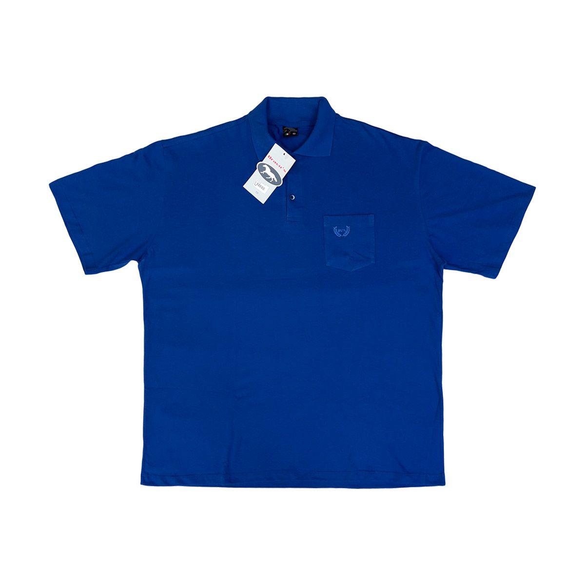 Kit Bermuda Jeans E Camisa Polo Masculina Plus Size 56 E G3