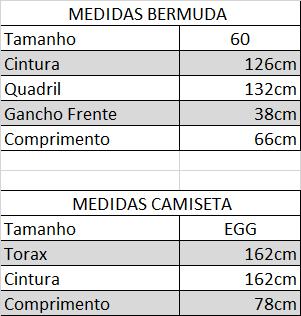 Kit Bermuda Jeans E Camiseta Masculina Plus Size 60 E Egg