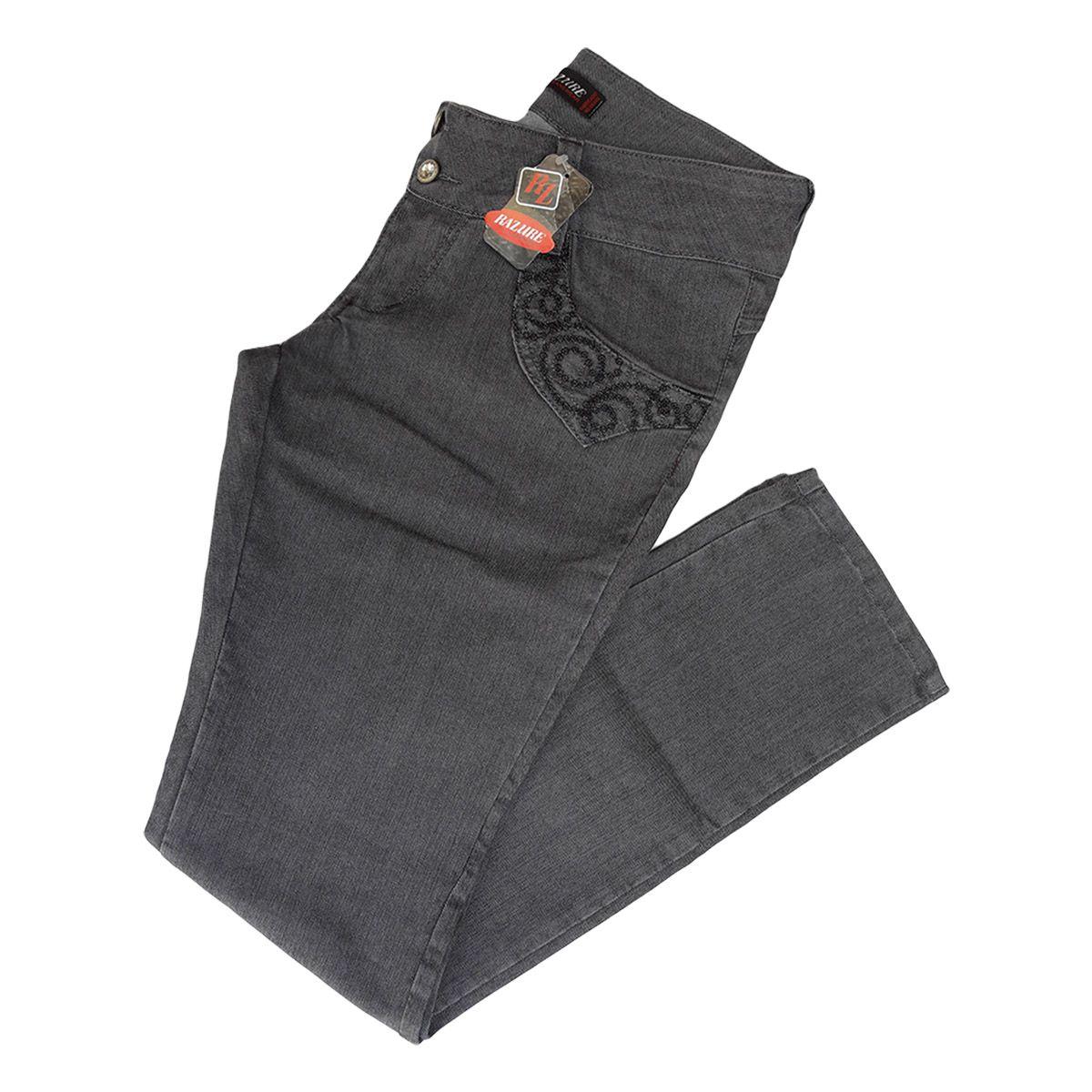 Kit C/ 02 Calças Jeans Femininas Tamanho 44