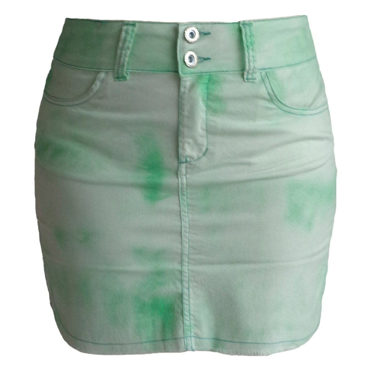 Mini Saia Verde Tay Day Plus Size