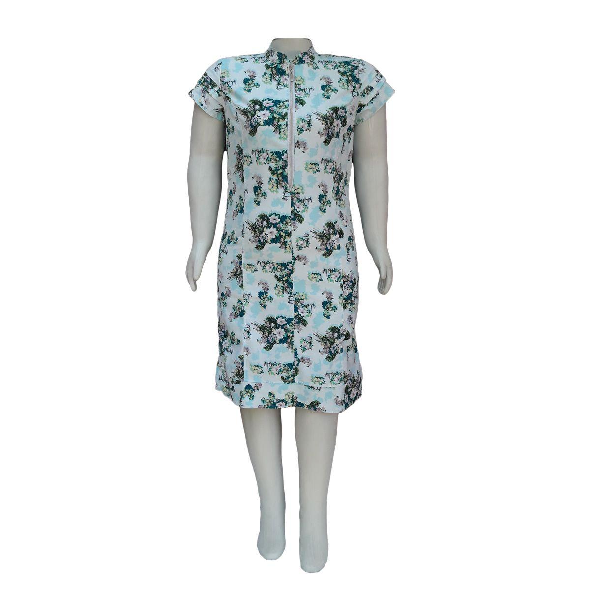 Vestido Moda Evangélica Plus Size