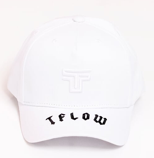 BONÉ TFLOW ABA BRANCO - TFLOW