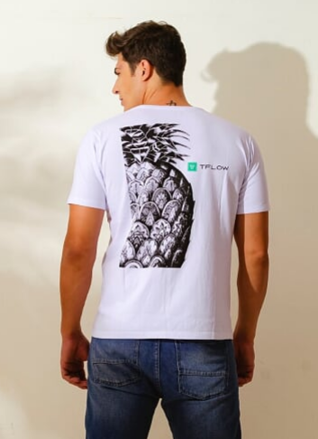 CAMISETA ABACAXI TRIBAL - TFLOW