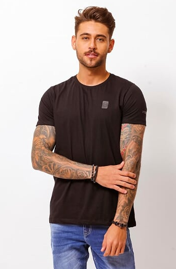 CAMISETA BASIC PRETO - TFLOW