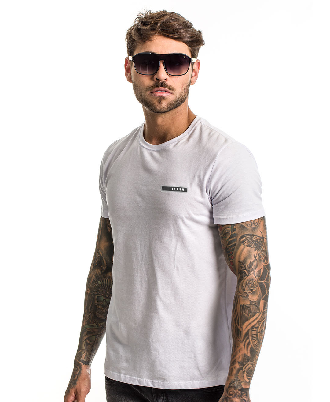 Camiseta Basic Tflow Branca