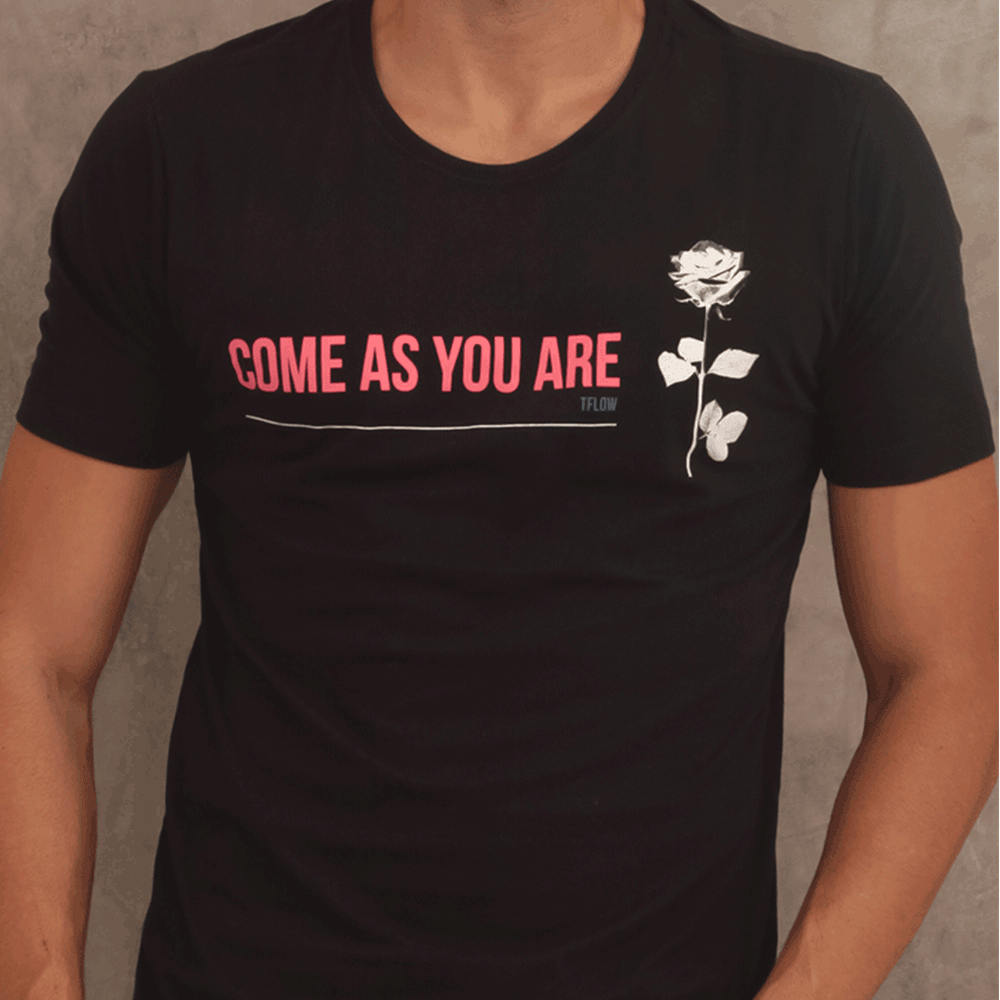 CAMISETA COME AS YOU ARE - TFLOW