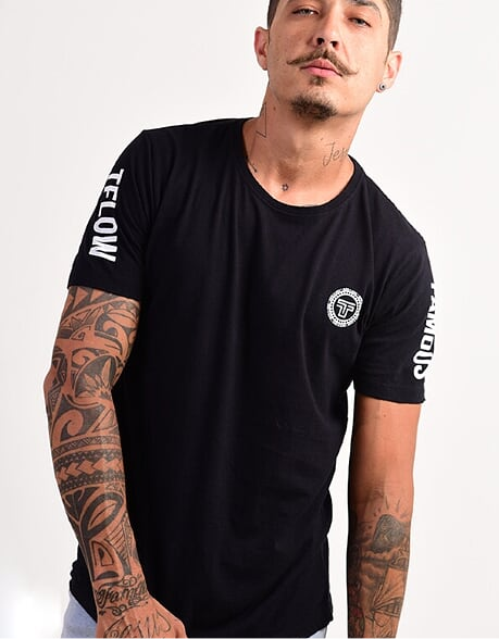 CAMISETA LONG NO RULES - TFLOW