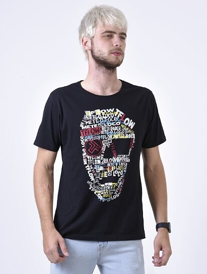 CAMISETA MAD MASK TFLOW