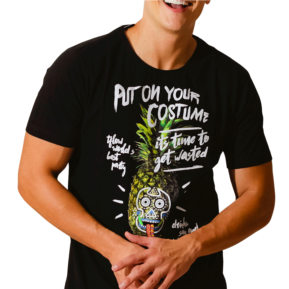 CAMISETA MERRY PINEAPPLE - TFLOW