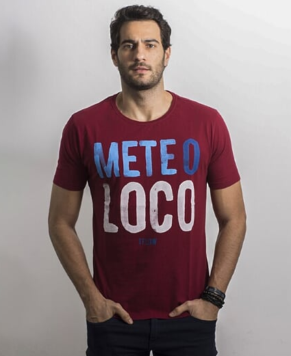 CAMISETA METE O LOCO BORDO - TFLOW