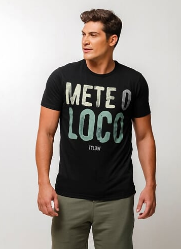 CAMISETA METE O LOCO - TFLOW