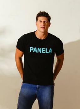 CAMISETA PANELA PRETO - TFLOW