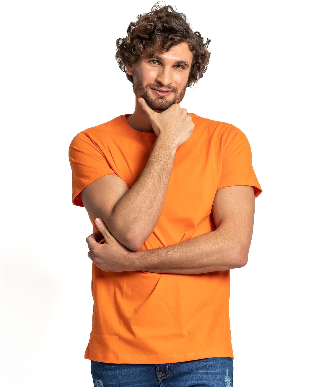 Camiseta Premium Next Edition Algodão PIMA Laranja - Tflow